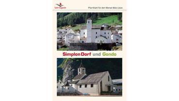 Simplon Dorf und Gondo