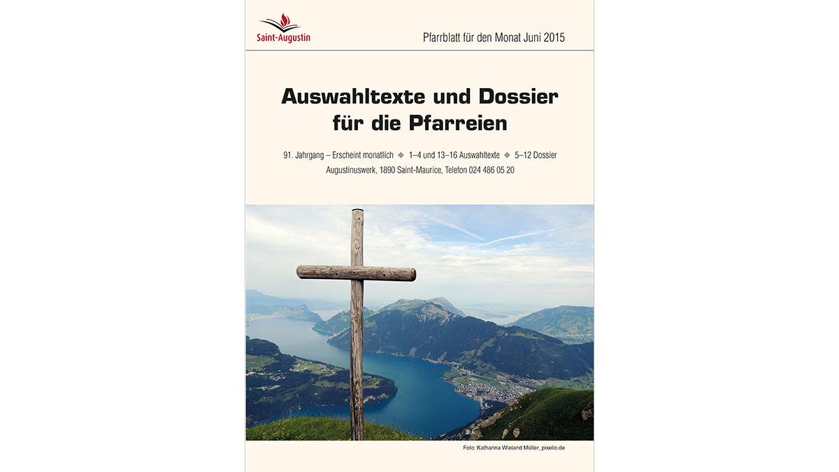 """Juni 2015: «Versöhnungsjahr und """"Grosses Jubiläum""""»"""