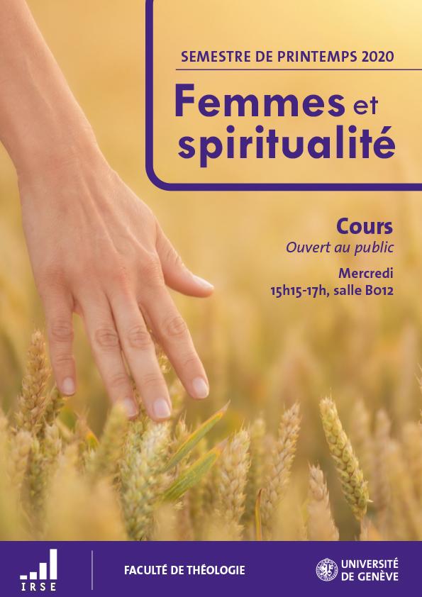 Femmes et spiritualité – 4, 11, 18, 25 mars et 1er avril – Genève – EVENEMENT ANNULE