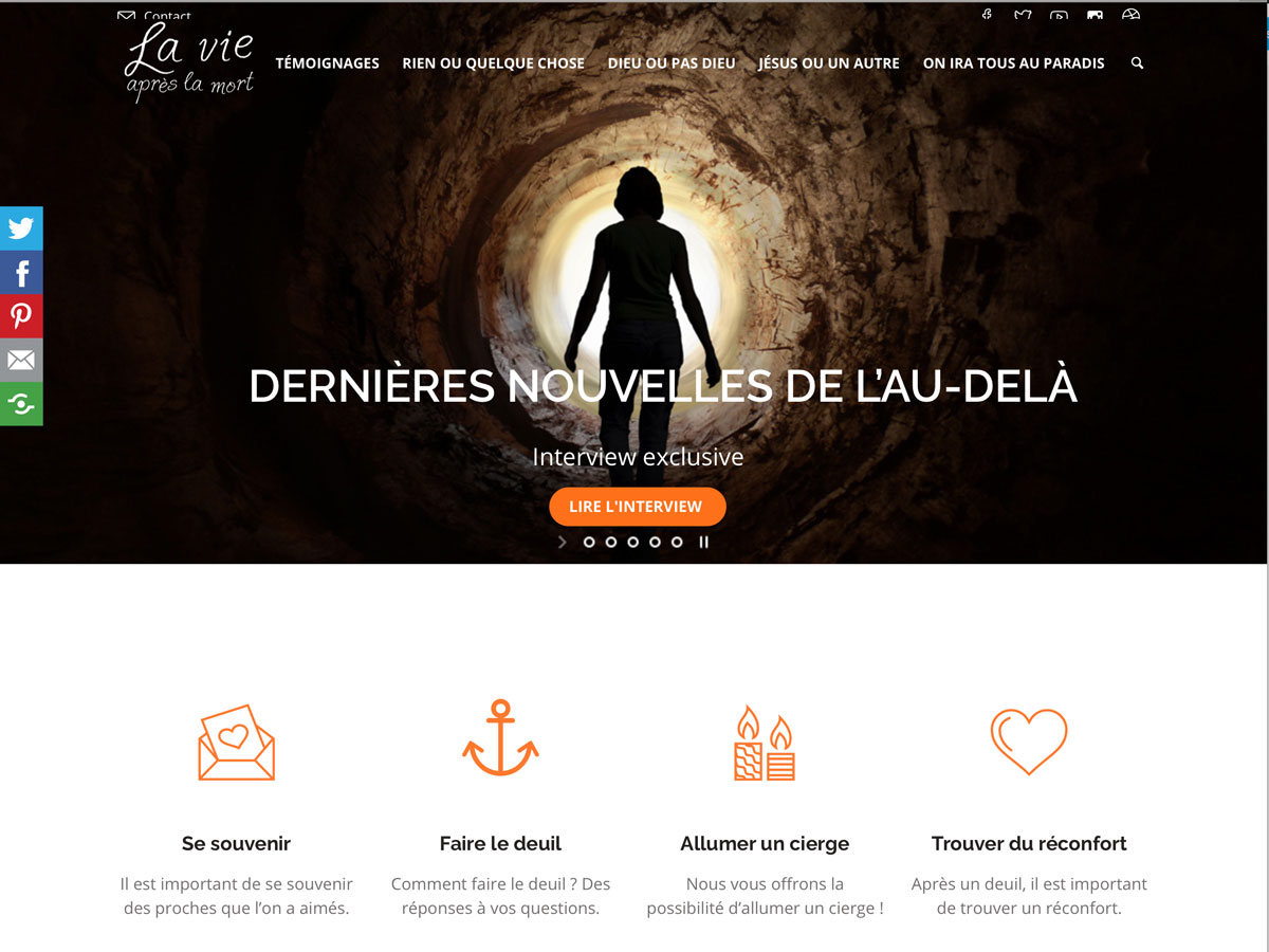 La vie après la mort.com