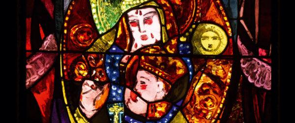 Les vitraux de Cingria, chapelle Saint-Jean-Baptiste, Perly (GE)